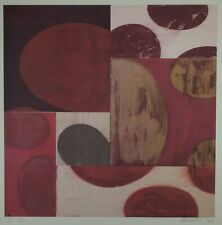 Charles Arnoldi I 7/10 Abstract Art Signed & Numbered Lithograph 2001 RARE