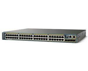 🌟 CISCO WS-C2960S-48FPS-L 48x 10/100/1000 POE+ 4x SFP Gigabit +C2960S-STACK