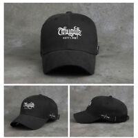 Unisex Mens 2Pac Flipper Thug Life Out Law Baseball Cap Trucker Hats Black