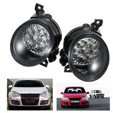 2PCS 9 LED Fog Light Bright White Lamp Left & Right Fit for VW JETTA MK5