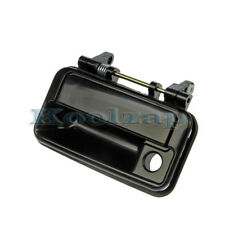 89-94 Geo Metro Front Outside Outer Exterior Black Door Handle Left Driver Side