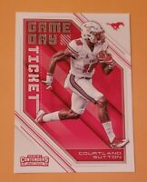 2018 Panini Contenders Draft Picks Game Day Ticket #7 Courtland Sutton