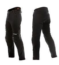 DAINESE pantaloni moto tessili TG 28 NEW DRAKE AIR TEX NERO Nuovo Estate Pantaloni