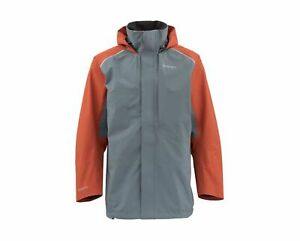 Simms Transom Fishing Jacket -Storm-- Free US Shipping -- CLOSEOUT