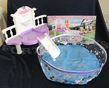 ROSE Palace DOLL HOUSE FURNITURE Waterfall Fantasy Pool SET (2678)