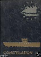 64 CVA USS Constellation  1964  CRUISE BOOK . FREE Shipping