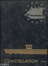64 CVA USS Constellation  1964  CRUISE BOOK