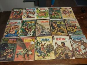 Tarzan- Vintage Gold Key Issues- Lot of 39 comics- w/ COA Powers Collection