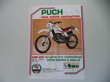 advertising Pubblicità 1984 MOTO PUCH HW 350