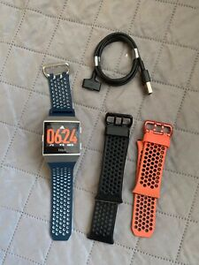 Fitbit Ionic Adidas Edition Smartwatch Bundle - Watch, Charger & Extra Bands