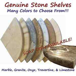 "Premium 8"" Corner Shower Shelf - Soap Dish & Finish both sides available!"