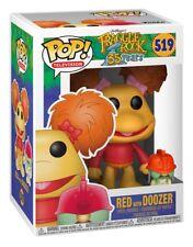 Funko Pop Vinilo Fraggle Rock Rojo Con! figura Doozer no 519