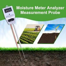 3in1 Digital Soil pH Meter Moisture Light Intensity Meter Plant Tester Analyzer
