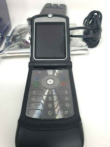 Motorola V3 Phone RAZR ATT Cingular ALLTEL Flip Style SMS EMAIL WIFI GPRS Light