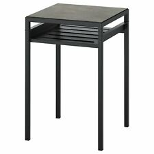 Ikea Nyboda Side Table with Reversible Table Top - Black or Dark Gray
