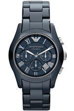 Emporio ARMANI AR1469 Uhr Herrenuhr CERAMICA Watch Blau Original Neu Keramik NEU