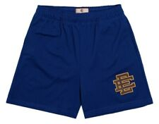 Eric Emanuel EE Basic Short Royal/Maroon/Yellow Size Large Deadstock New