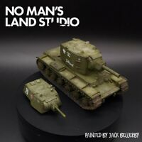 Pro Painted 28mm bolt action soviet Kv-1/Kv-2(both turret options included)  ww2