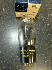 NOS Western Electric 101D  ST shaped Vacuum Tube Dated 1961