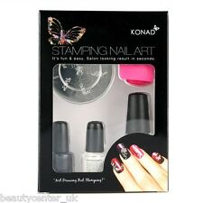 Konad Stamping Nail Art T Set Beauty Fashion Professional Korea