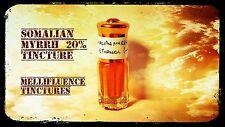 Somali Myrrh Tincture 20% - Earthy Commiphora Myrrha in Pure Ethanol - 3ml