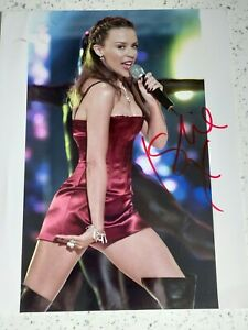 Kylie Minogue Signed Picture