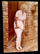 EARLY AUTOGRAPH PHOTO SIGNED JEAN HARLOW DIED 1937 MOVIE FILM ACTRESS SEX SYMBOL