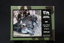 ZA676 VERLINDEN PRODUCTIONS GERMAN INFANTRY GET DOWN 2 fig WWII Ref 1791 1/35 NB