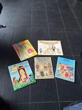 A Set of 5 VTG Fashion Paper Doll Books