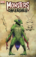 Monsters Unleashed #2 New Monster Wraparound Variant Marvel