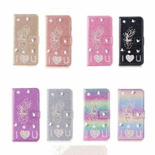 Bling Glitter Flip Leather Angel Case Cover For Samsung S20 S10 A51 A71 A21s A41