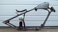 Turn Your Sportster/Buell into Nasty-A$$ Drag Bike!!! Frame Kit w Tanks & Seat!