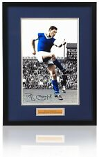 "RAY CRAWFORD Hand Signed IPSWICH TOWN 12x8"" Framed Photo AFTAL photo proof COA"