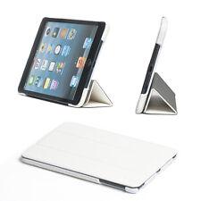 ULTRA Slim di cuoio magnetica Folio Case Cover per Apple iPad Mini 3/2 BIANCO