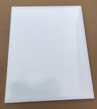 Chamfer Edge Kitchen Unit Cupboard Doors and Drawers High Gloss Brilliant White