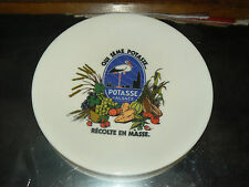 Assiette Publicitaire Potasse D'Alsace HANSI Années 60 Cigogne Tefal Objet