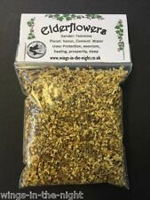 ELDERFLOWERS Dried Magical ~ Protection/Healing/Purification/Exorcism ~ Pagan
