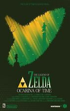 The Legend Of Zelda Ocarina Of Time - Wall Poster 30 in x 20 in - 5 Set of 9