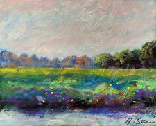 Plein Air.Painting Impressionist LANDSCAPE Andrew Semberecki