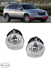 FOR CHRYSLER PACIFICA 2006 - 2008 2X FRONT FOG LIGHT LAMPS PAIR LEFT + RIGHT