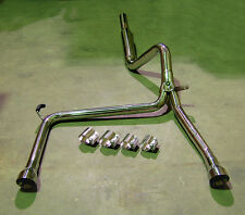 Camaro Firebird Catback Stainless Steel Exhaust + Bandclamps + SS Tips Ls1 Lt1