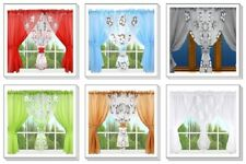 LARGE VOILE MODERN NET CURTAIN WINDOWS DECORATION