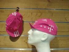 Rennrad Cap Team Telekom Adidas Vintage Cycling Cap rosa Fixie Singlespeed Retro