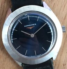 Longines 847.4 Doesn'T Works For Parts Hand Manual 34 MM Vintage Watch