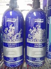 Natural Look Silver Screen Movie Tone Ice Blonde Shampoo & Conditioner 1L