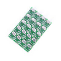 20x micro usb to DIP 2.54mm adapter connector module board panel female 5-pin WB