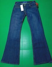 NWT Fcuk Boot Flare Jeans Women's Size 6 Medium Wash Low Rise Denim