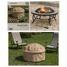 Budge All-Seasons Fire Pit Cover 3 Layer UV Waterproof Protection Round 36 Inch
