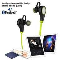 Bluetooth Headphones Wireless Sound Bass Earphones Sport Headset with Bass Mic