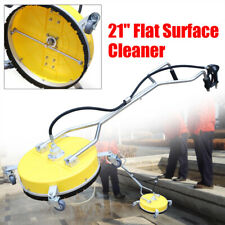 21 Flat Surface Cleaner Water Power Pressure Washer Concrete Driveway 4000 Psi